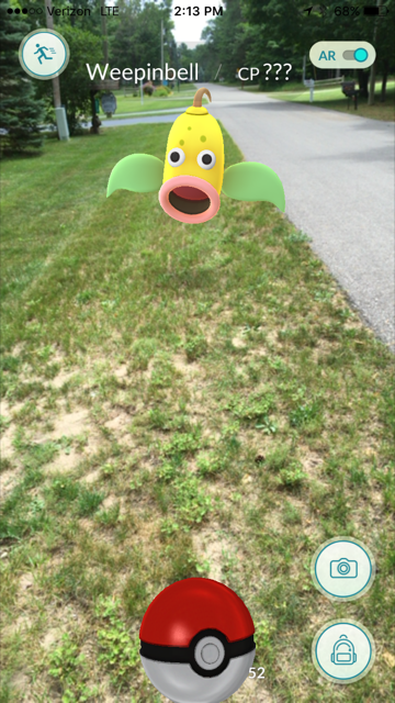 pokeoutside