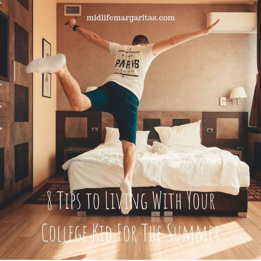 8 Tips to Living With Your College Kid For The Summer