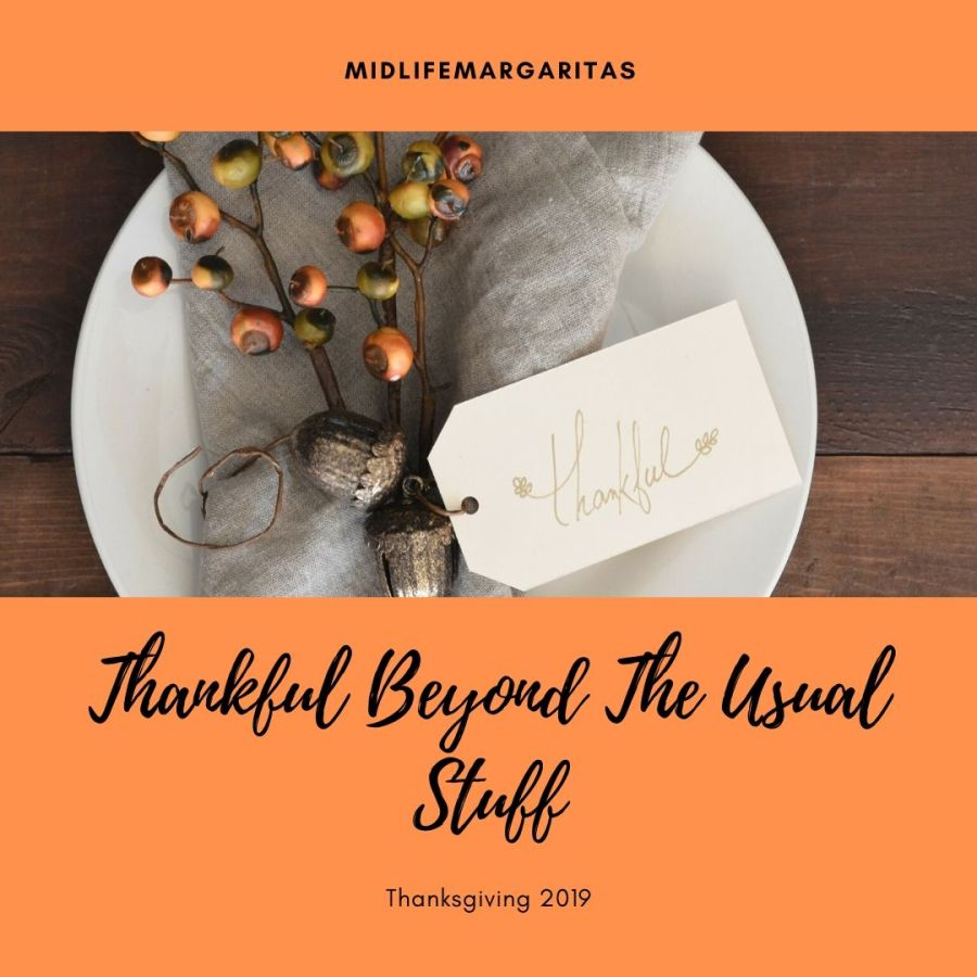 Being Thankful Beyond The Usual Stuff…