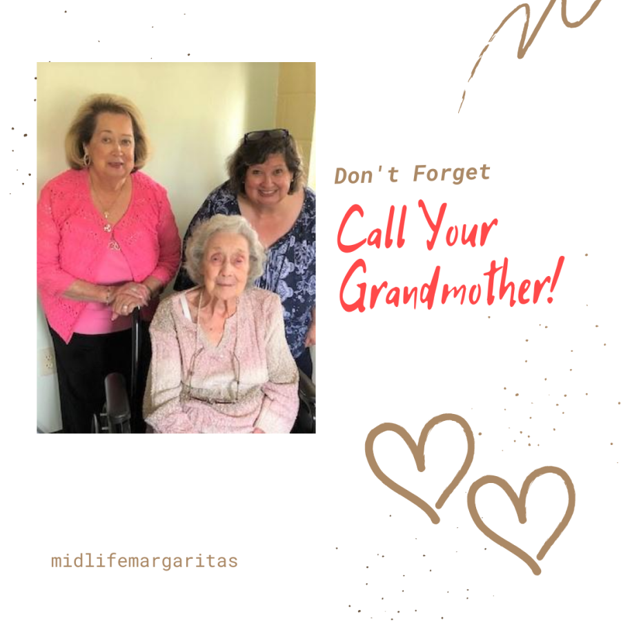 Calling Grandmother Even If She Can't Hear Worth ADamn!