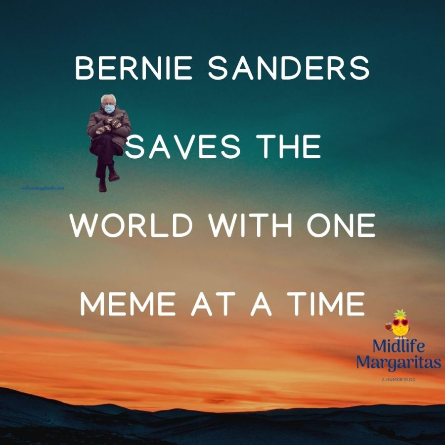 Bernie Sanders Saves The World With One Meme At A Time. Who Woulda Thought.