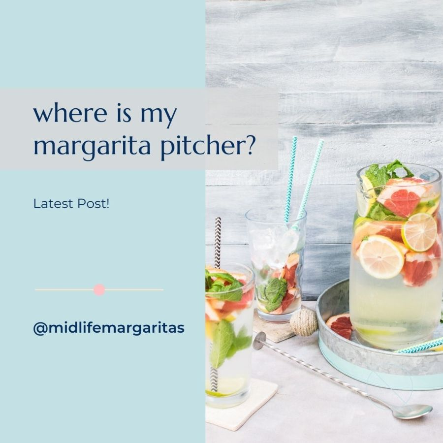Midlife Moving and Grooving But My Brain Can't Remember Which Moving Box The Margarita Pitcher Is In.S#!t.